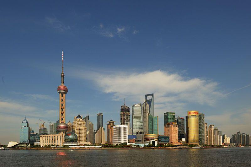 急速な経済発展を遂げた上海