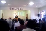聖会の様子=生駒聖書学院提供