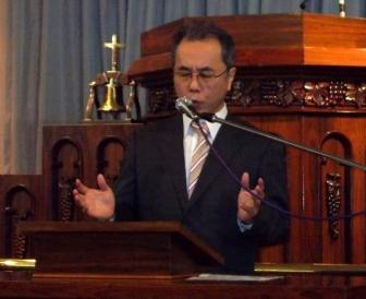 JEA総主事「時はすでに来ている」 断食祈祷聖会2013