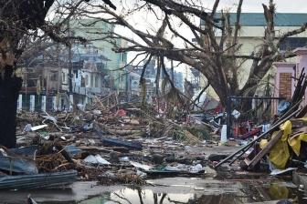 日本福音自由教会、台風被害に遭ったフィリピン福音自由教会に約120万円の支援