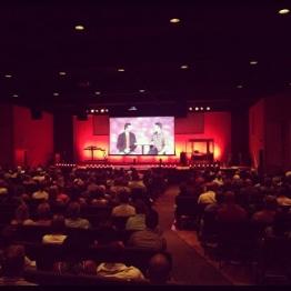 ネクストレベル教会(フロリダ州)のビデオによる説教(写真:ネクストレベル教会)