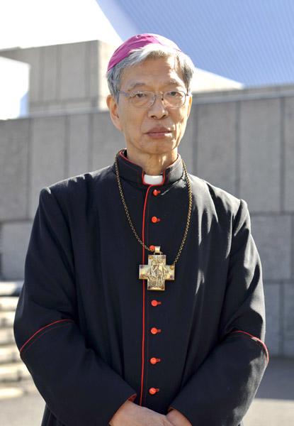 岡田武夫大司教(写真:カトリック東京大司教区の公式サイトより)