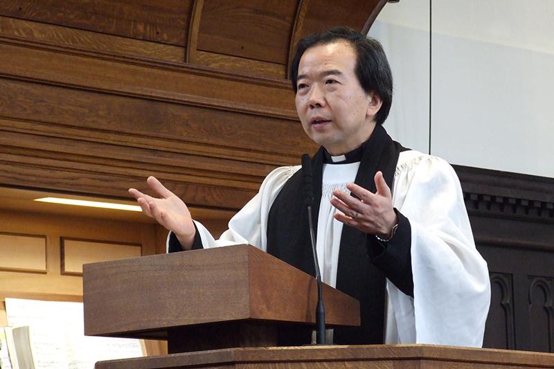 立教大で使徒聖パウロ回心日礼拝、宮﨑チャプレン「パウロの生涯全体が回心だった」