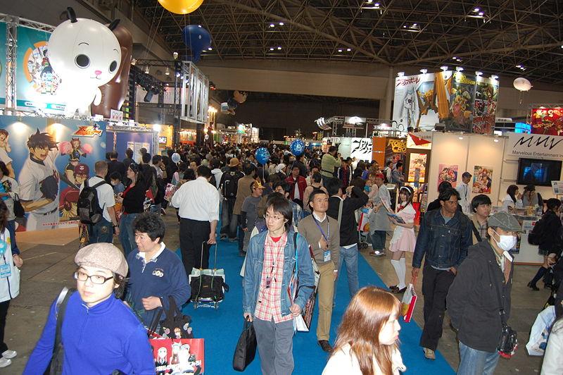 毎年3月末頃に東京ビックサイトで開催されていたアニメ業界世界最大級のイベント「東京国際アニメフェア」