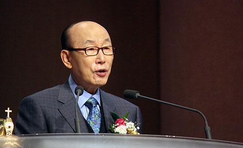 趙鏞基(チョー・ヨンギ)・汝矣島(ヨイド)純福音教会元老牧師