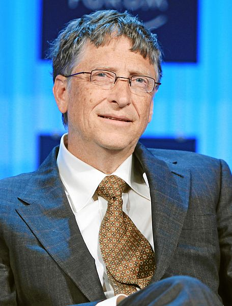 ビル・ゲイツ氏(写真:World Economic Forum)