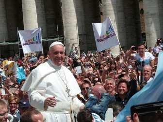 教皇フランシスコが最も偉大な指導者に 米フォーチュン誌が世界の指導者50人を選出