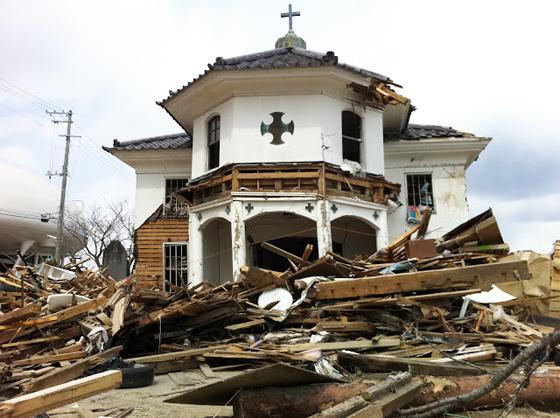 被災2度目の「旧石巻ハリストス正教会教会堂」が解体、移築へ