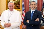 ローマ教皇フランシスコとオバマ米大統領が初会談 貧困問題などで意見交換