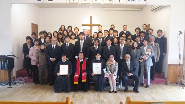 生駒聖書学院第61期生卒業式(写真:生駒聖書学院提供)