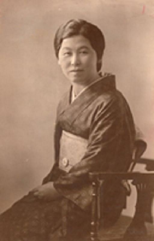 村岡花子さん(写真:東洋英和女学院法人事務局史料室提供)