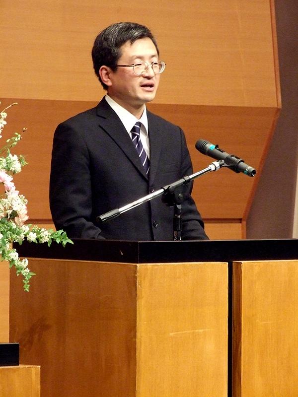 三浦綾子読書会の前代表で現顧問の長谷川与志充氏(東京JCF牧師)