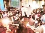 古民家で教会カフェ・イベント「イースターの夕べ」 キリスト教会の雰囲気を体験的に再現