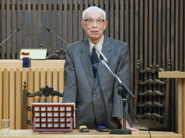 宮田光雄氏がバルメン宣言を解説 「キリストの福音に立ち返るほかない」 新教出版社創立70周年記念講演