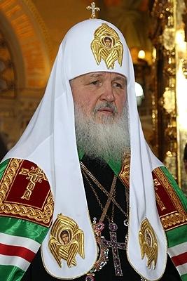 ロシア正教会のキリル総主教(写真:kremlin.ru)