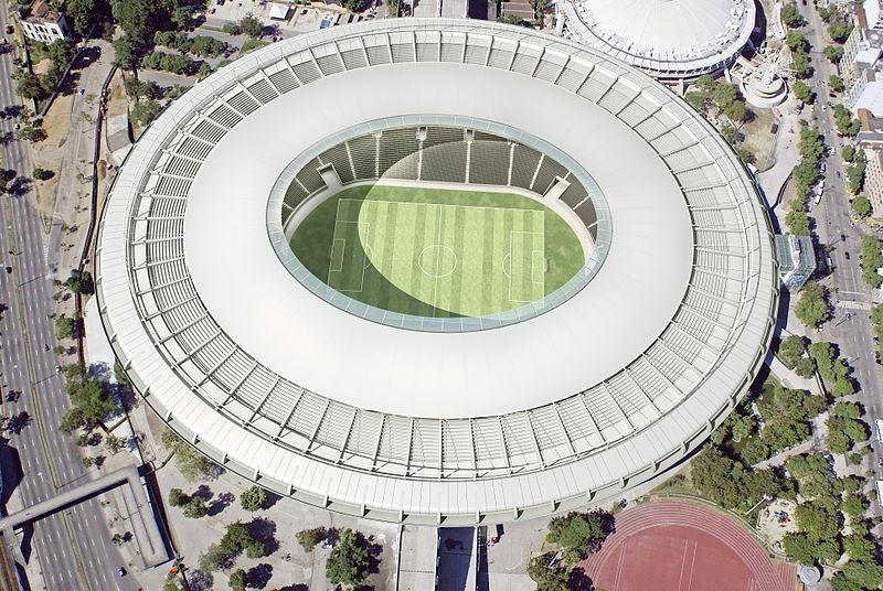 リオデジャネイロの新しいサッカー専用スタジアムであるマラカナン競技場(写真:Brazilian Government / EMOP)