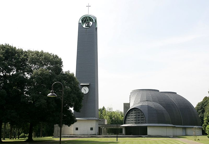 東京基督教大学(TCU)のチャペル(写真:同大)
