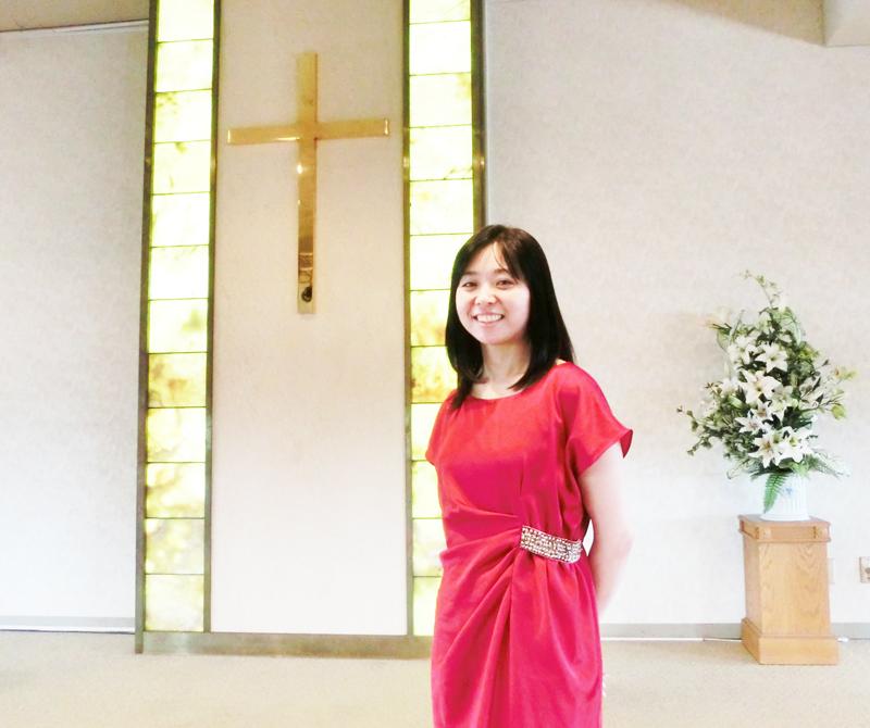 聖書キリスト教会の礼拝堂で