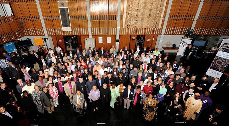 スイス・ジュネーブで2日から8日まで開催されたWCC中央委員会の参加者(写真:WCC)