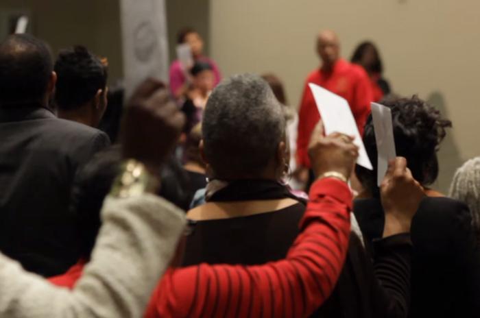 (写真:『Black Church, Inc.』の予告映像より)