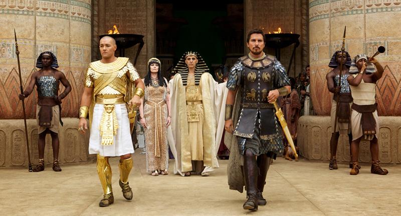 12月に全米公開を控える映画『出エジプト記:神々と王たち』のプロモーション写真(写真:20世紀フォックス)