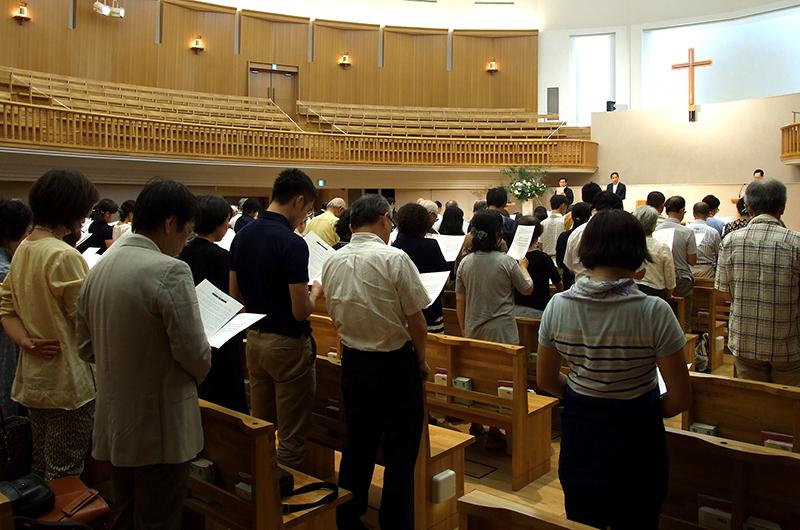 聖学院大学「平和の祈り8・15」 姜尚中学長「終戦69年」ではなく「解放69年」に