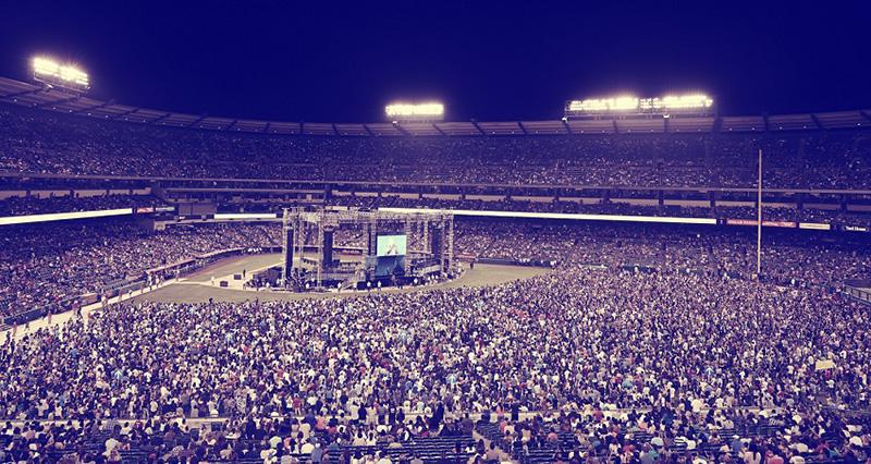25年続く米大規模伝道集会「ハーベスト・クルセード」、1日で4千人以上が決心