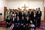 生駒聖書学院9月入学式・2学期始業式 入学生3人迎え新たなスタート