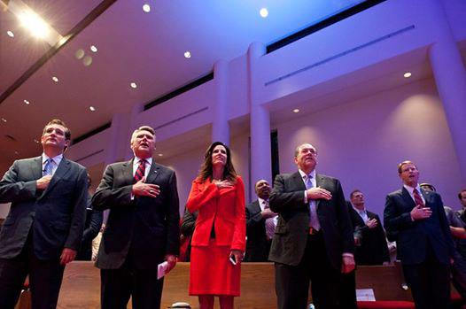 キリスト教的伝統の継承に危機感 米教会で国歌200周年祝う記念行事