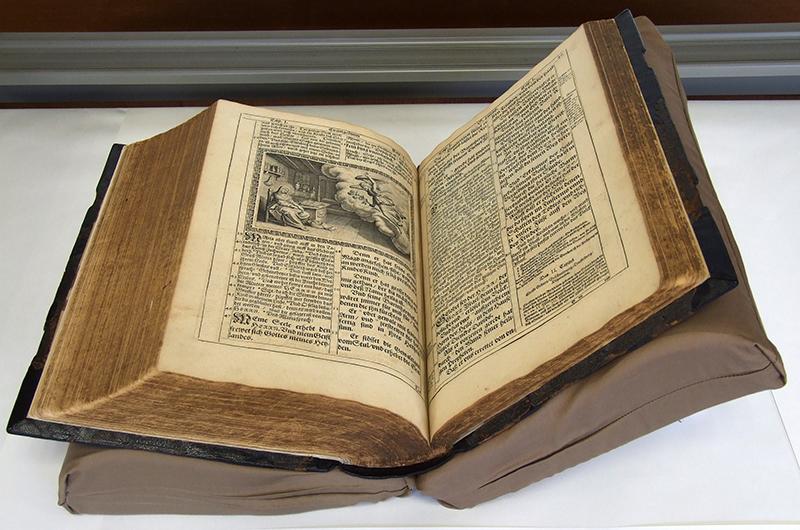 384年前出版のルター訳「メリア...