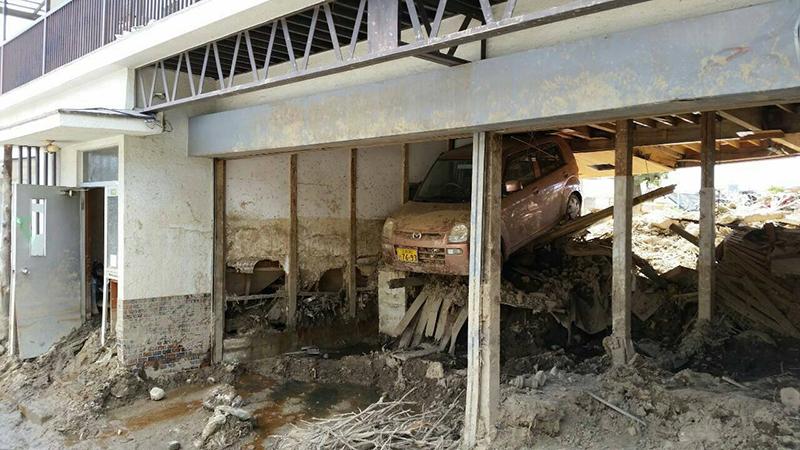 教会広島土砂災害支援室、27日でボランティア終了 地元住民「教会なければどうなってたか」