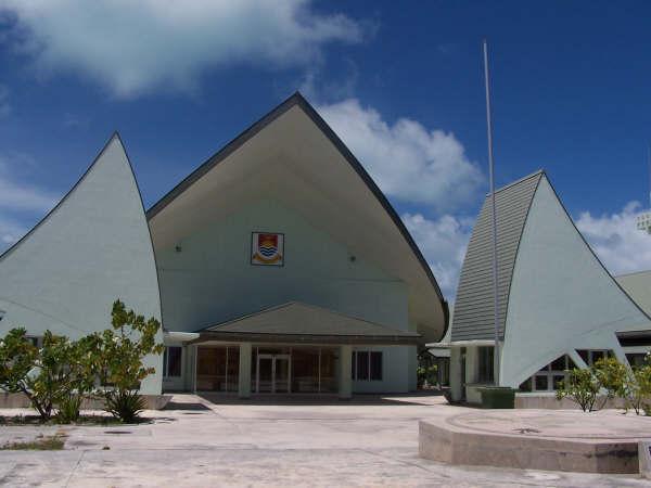キリバスの議会(写真:Dr. Blofeld)