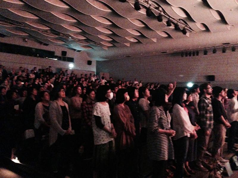 「LOVE JAPAN」大阪会場2日目の様子。約550人が参加した=12日、松下IMPホール(大阪市中央区)で