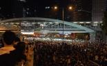 政府との会談実らず 香港の抗議活動家たち、行進を計画