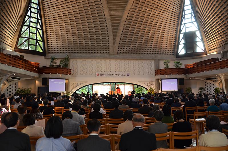 """""""ホーリネスの源流"""" 淀橋教会、創立110周年で記念講演会・祝賀会"""