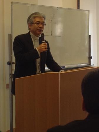 教派超えて平和憲法の危機を考える 松浦悟郎司教を迎え大阪の4教会が合同研修会