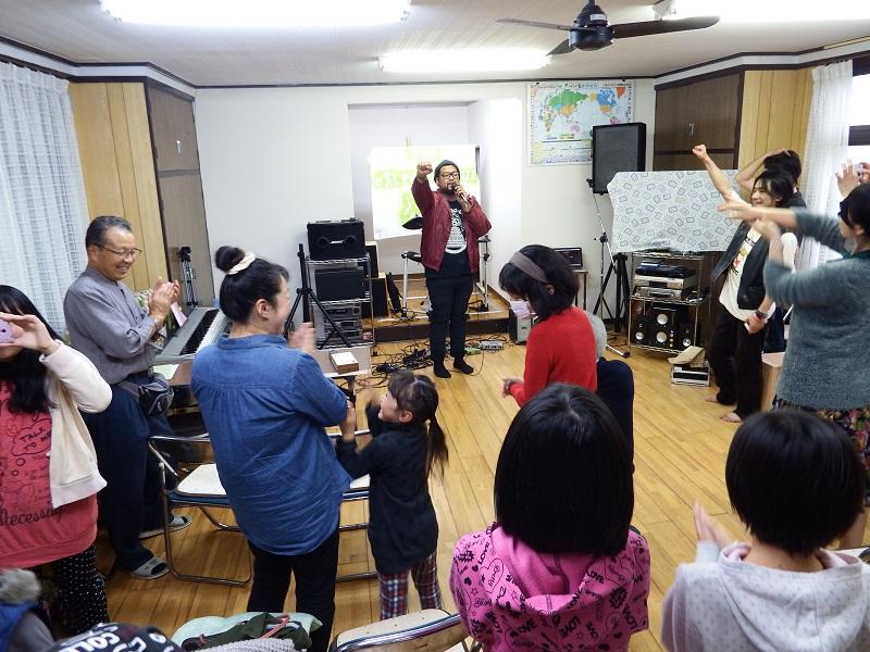 ロックとヒップホップに神の愛をのせて エクストリームツアー、福島でスタート!