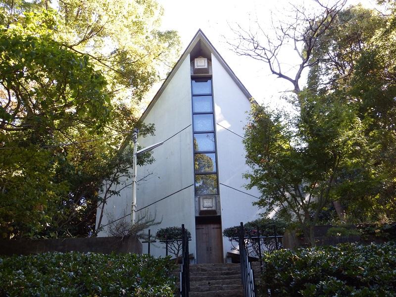 JR東海道線大磯駅前の緑に囲まれた小高い丘の上にある澤田美喜記念館
