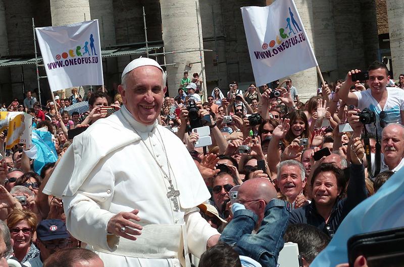 ローマ教皇フランシスコ。来年9月に即位後初めて米国を訪問する。(写真:Edgar Jimenez)