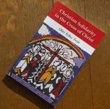 初来日したWCC総幹事のオラフ・フィクセ・トヴェイト著『Christian Solidarity in the Cross of Christ』を読む