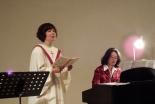 一足早いクリスマス 久米小百合さん、NCM2 CHOIRらがコラボコンサート