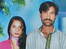 殺害されたシャマ・ビビさんとシャーバズ・マシーさん夫婦