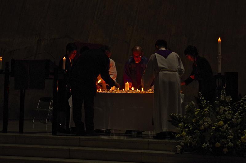 カトリック・聖公会・ルーテルの3教会が初の合同礼拝 エキュメニズム教令50周年で