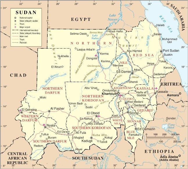 エジプト南部と国境を接するスーダンは、2011年に南部が南スーダンとして分離独立した。(写真:Muhammad Daffa Rambe)
