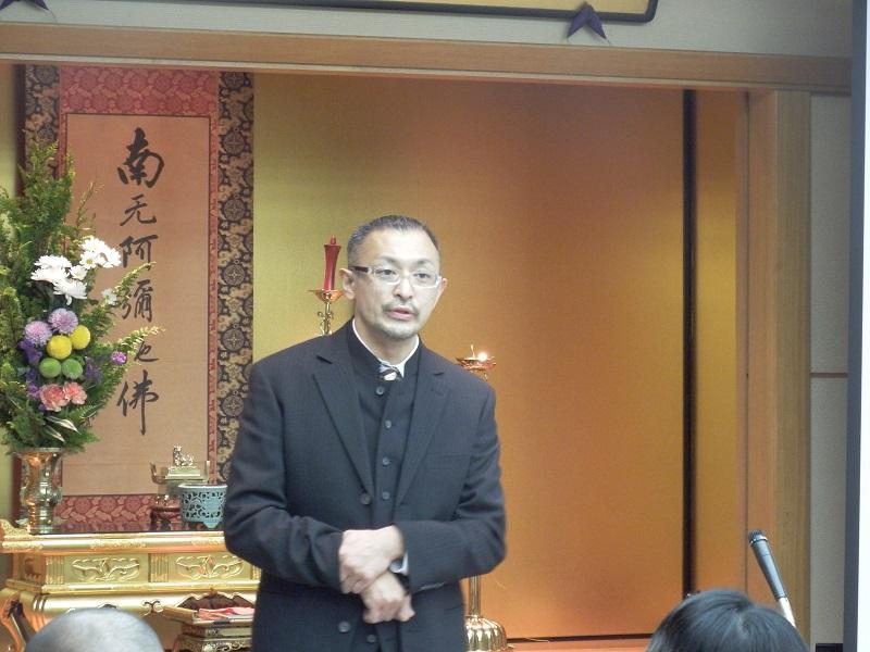 「あらゆる意味で胆(はら)を括って」 進藤龍也牧師、浄土真宗保護司へ講演「罪人の友として生きる」
