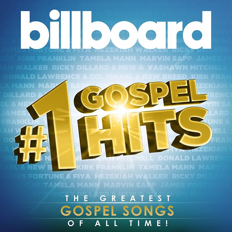来年1月13日に発売されるニューアルバム『Billboard #1 Gospel Hits』