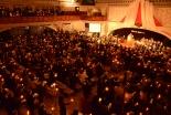 クリスマスイブの夜、日本各地の教会でイエス・キリストの降誕祝う礼拝やミサ