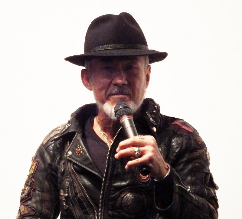 今月13日に日本公開された映画『神は死んだのか』の好スタートを記念して開催されたトークイベントで話すアーサー・ホーランド牧師=27日、ヒューマントラストシネマ渋谷(東京都渋谷区)で