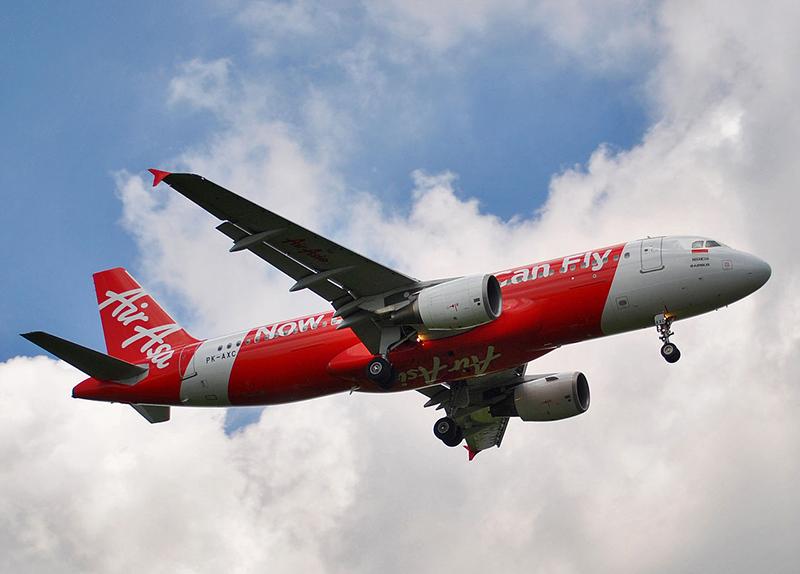 2011年に撮影された、消息不明のエアアジア8501便(エアバスA320-200型)(写真:Sabung.hamster)