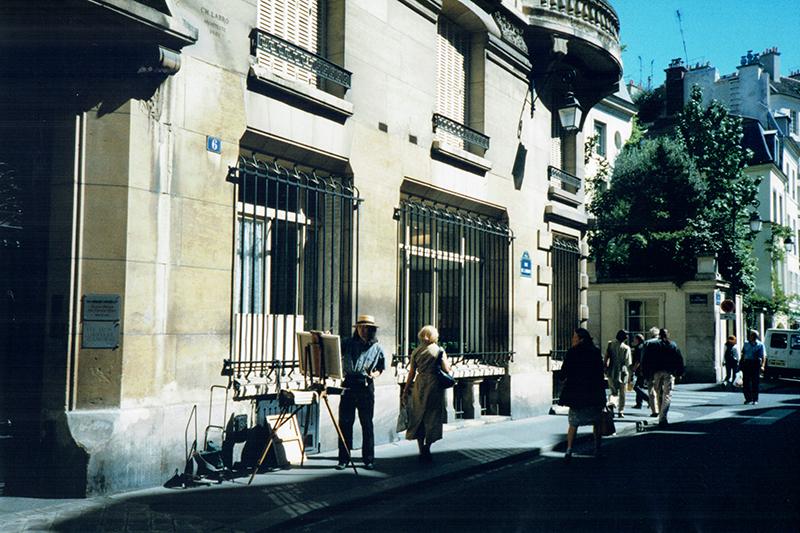 パリで32年、風景表現の限界に挑む 画家・渡部正廣さん(2)